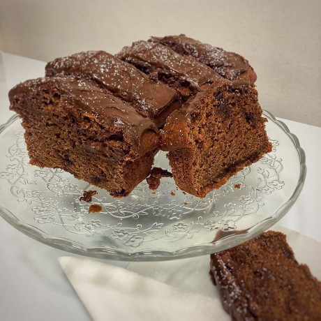 Vegan Pear & Chocolate Loaf