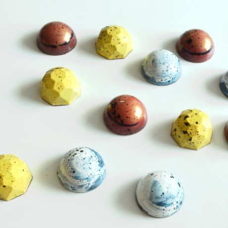 Vegan artisan bonbons by Anastassia Chocolates