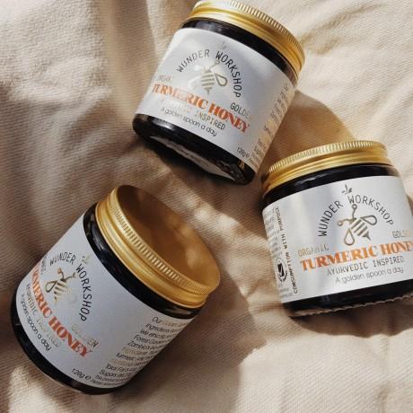 Organic Turmeric Honey
