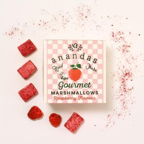 Gourmet Raspberry Marshmallows (Vegan)