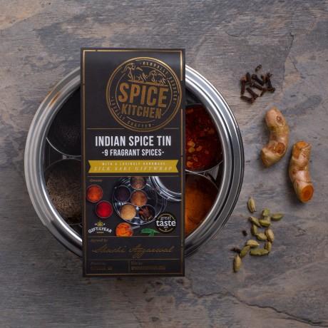 Spice Kitchen Indian Spice Tin