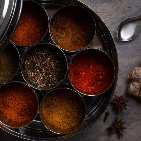 Barbecue Meat Rubs Spice Tin with 9 Spices