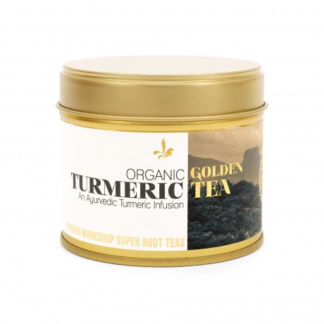 Organic Golden Turmeric Tea - 3 Jars