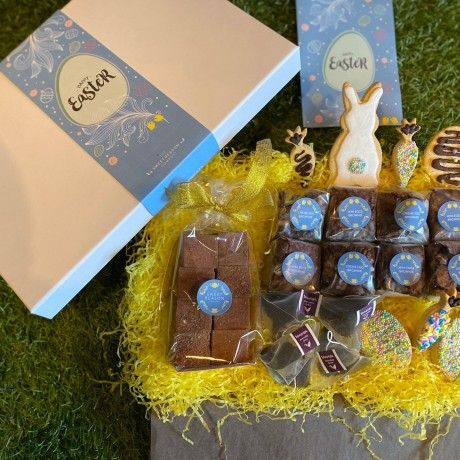 Indulgent Easter Biscuits, Brownies, Tea and Marshmallows