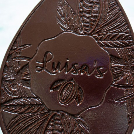 75% Solomon Islands Chocolate Easter Egg