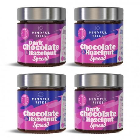Chocolate & Hazelnut Gift Box 'Happy Valentine'