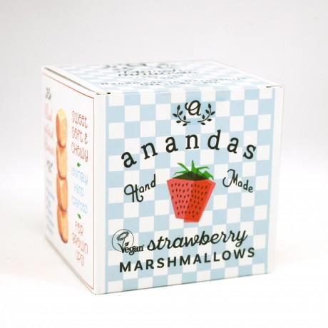 Gourmet Strawberry Marshmallows (Vegan)