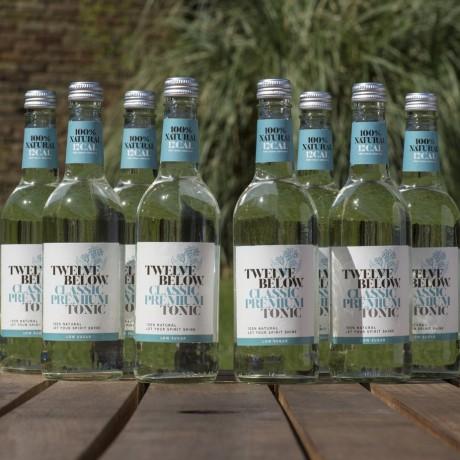 Natural Low Sugar Tonics 500ML - Classic Premium (Case of 8)