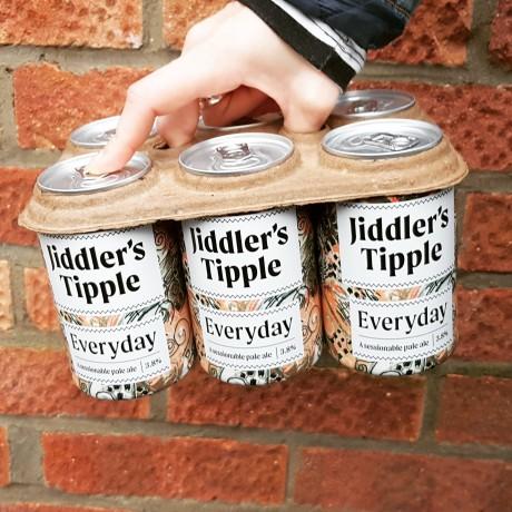 A 6-pack of Jiddler's Tipple