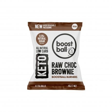 Keto Boostball Burners - Raw Choc Brownie