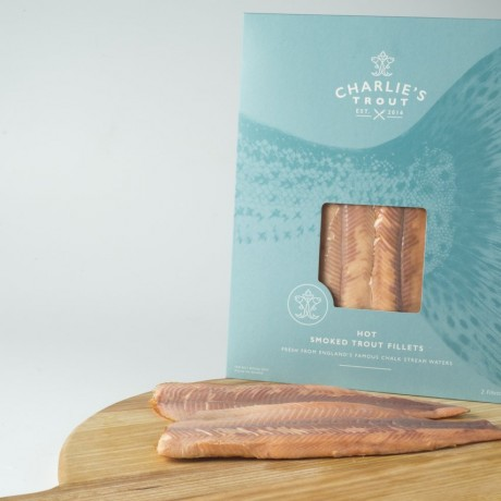 Charlie's Kiln Smoked Trout Fillets (125g)