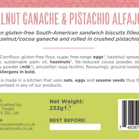 Authentic Venezuelan Alfajores | Hazelnut & Pistachios Biscuits