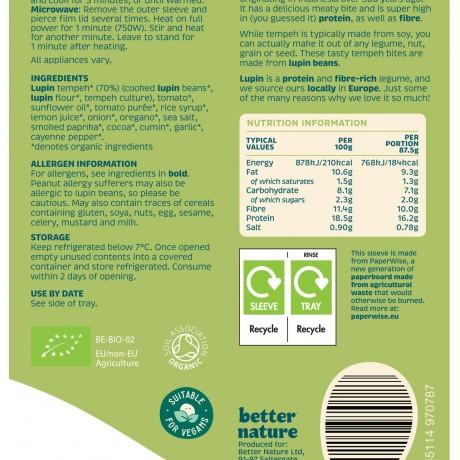 Nutritional information for Better Bites
