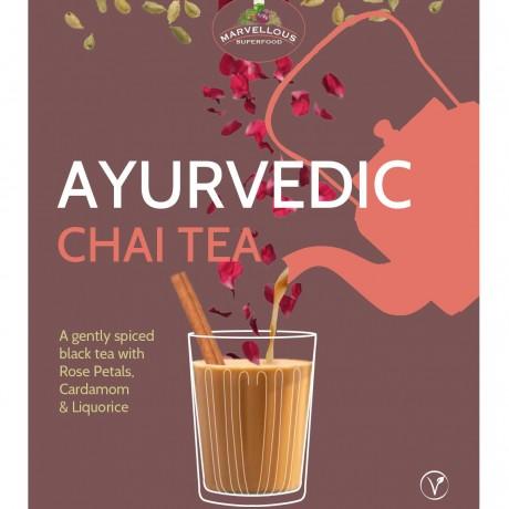 Chai tea and cookie (vegan GF)
