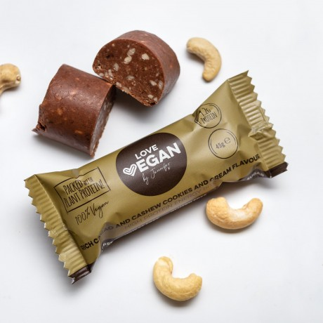 Love Vegan 45g High Protien Energy Bite 45g Cookies and Cream Flavour