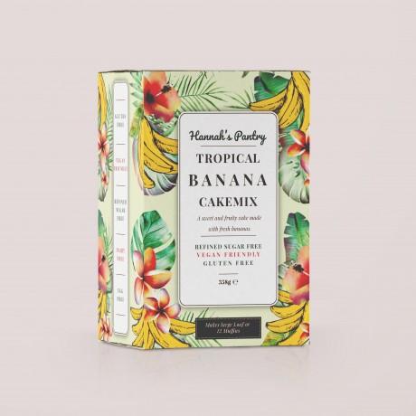 Tropical Banana Cake Mix (Vegan, Gluten Free)