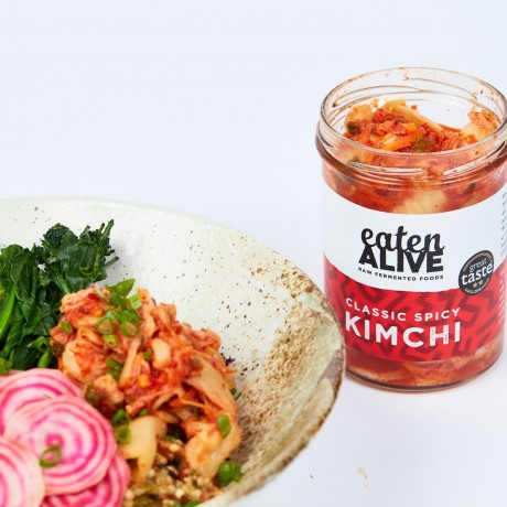 Try our kimchi with salads, snacks or straight out of the jar