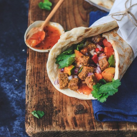 Tempeh Burrito with our Better Bites