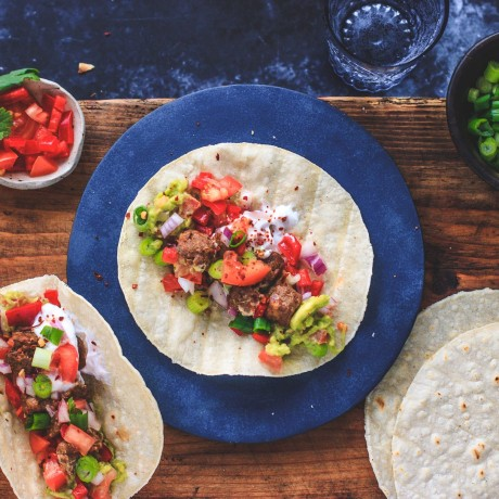Tempeh Taco with our Better Bites
