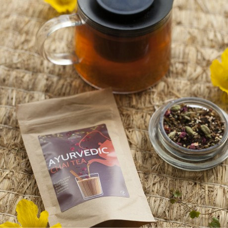 Luxury Tea, Biscuits and brownie Hamper (Gluten Free, Vegan)