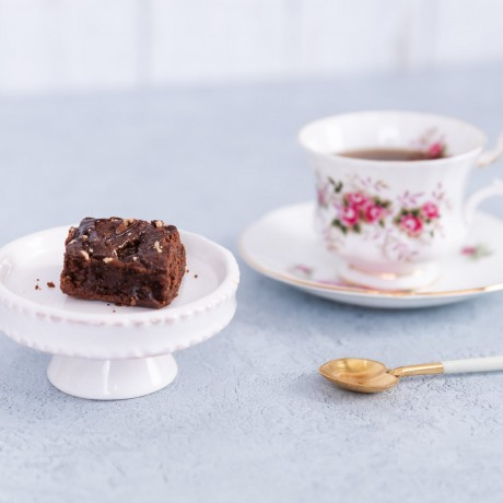 Unwrapped Salted Caramel Brownie-Cup of tea3