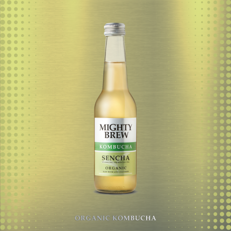 Organic Sencha metallic background