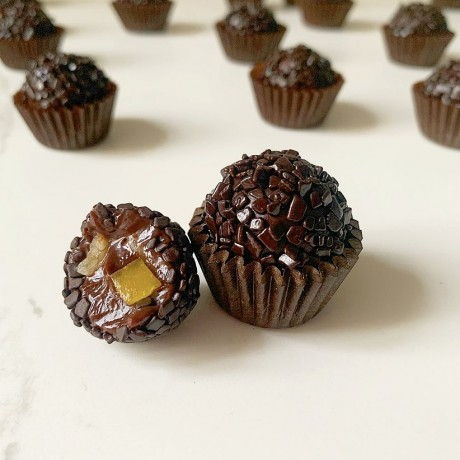 Dark chocolate, orange & ginger
