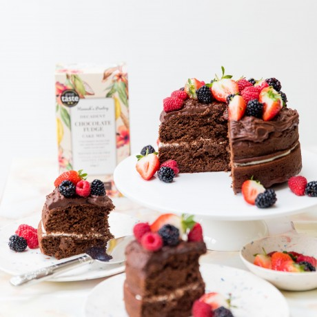 Chocolate Cake Mix, vegan and gluten free