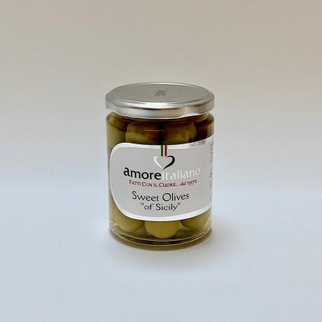 Sweet Sicilian Olives