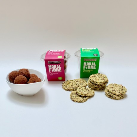 Courgette Crunch & Figberry Balls