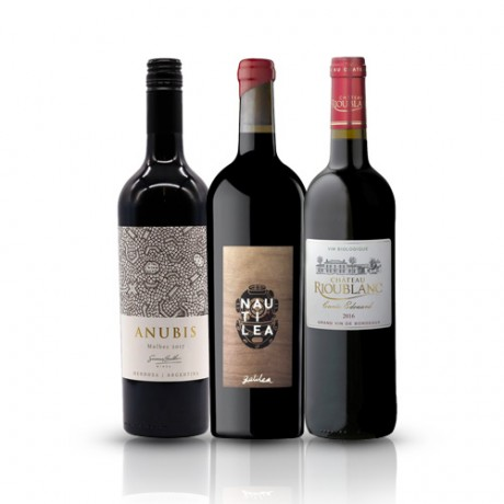 Classic Red Wines 3 Bottles