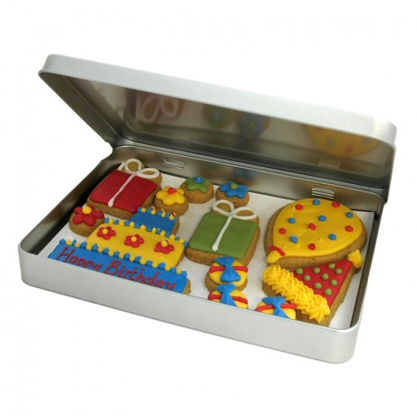 Happy Birthday Biscuit Gift Tin