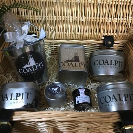 Coalpit Luxury Welsh Afternoon Tea Hamper