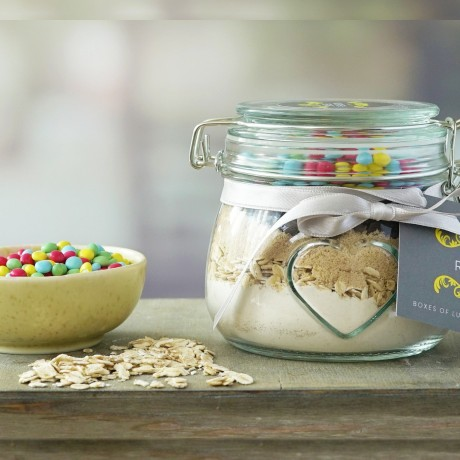 Smarties Cookie Mix Jar