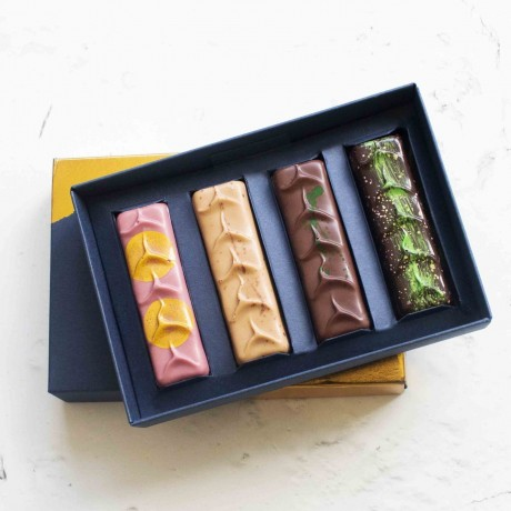 Luxury Chocolate Bars | The Botanical Collection (Box of 4)