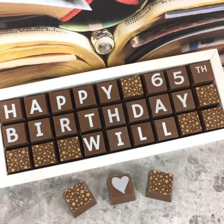cocoapod personalised all occasion 27 chocolate box