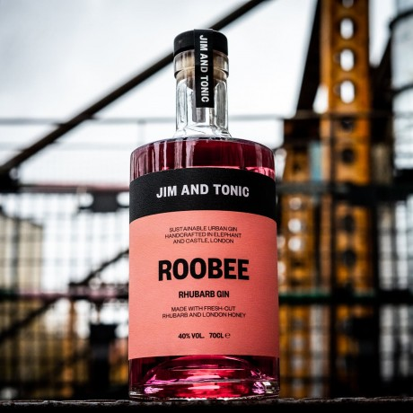 'ROOBEE' Rhubarb Gin by Jim and Tonic