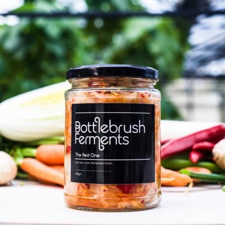 Raw & Lacto-Fermented Sauerkraut + Kimchi | The Award Winners (Pack of 2)