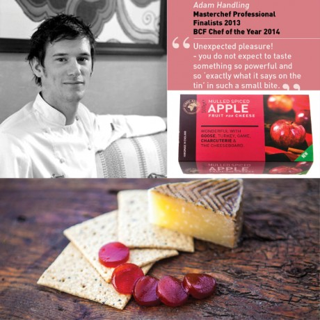 Spiced Apple Fruit jelly for Cheese