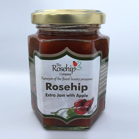 Rosehip & Apple Jam