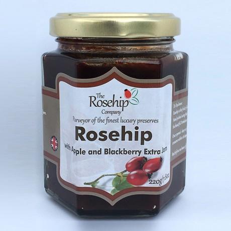 Rosehip Apple & Blackberry Jam