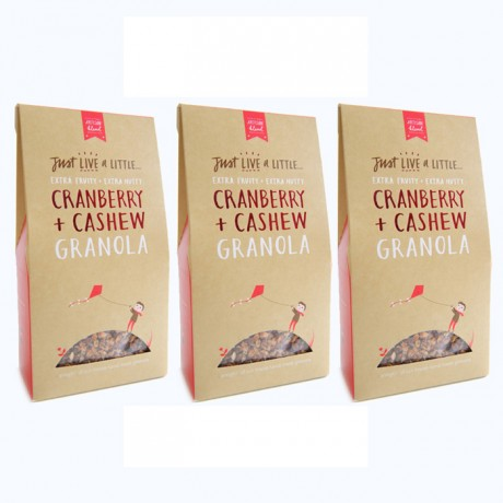 Cranberry Cashew Granola