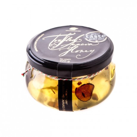 Acacia honey with Black truffles 220g
