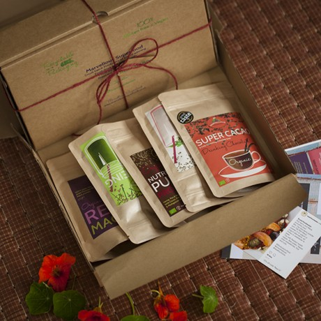 Health box: Energise And Detox Superfood Gift Hamper. BIG BOX.