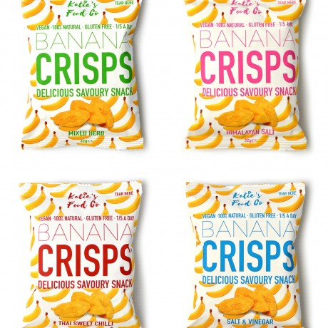 Salt & Vinegar Banana Crisps | Vegan & Gluten Free (Pack of 12)