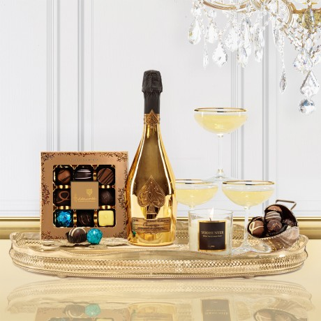 Luxury Ace of Spades Champagne Christmas Gift Box
