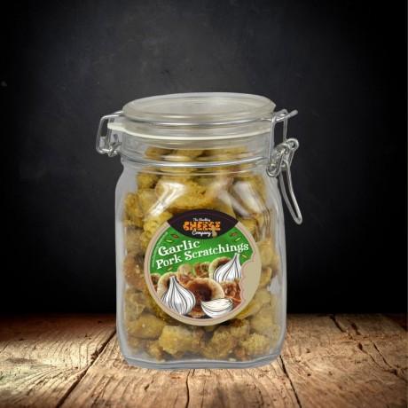 Garlic Pork Scratchings Gift Jar
