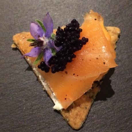 Additive-free smoked salmon