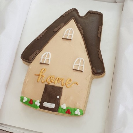 New Home / Home Sweet Home Large Biscuit