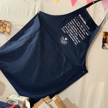 Welshcake Navy Blue Apron